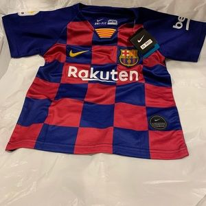 Nike Sri fit kids size 20 FC Barcelona Home Kit